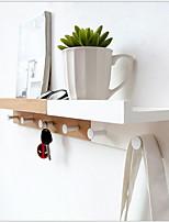abordables -Barre porte-serviette Cool / Créatif Moderne Bambou 1pc Montage mural