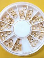 Недорогие -1 pcs Стразы для ногтей Многофункциональный / Лучшее качество Креатив маникюр Маникюр педикюр Рождество / Повседневные модный / Мода