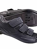 Недорогие -21Grams Обувь для велоспорта Дышащий, Ультралегкий (UL) Белый / Черный