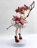 billiga -Anime Actionfigurer Inspirerad av Puella Magi Madoka Magica Madoka Kaname pvc 22 cm CM Modell Leksaker Dockleksak