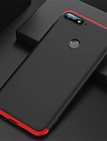 Недорогие -Кейс для Назначение Huawei Honor 7A Ультратонкий Чехол Однотонный Твердый ПК для Honor 7A
