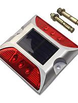 Недорогие -1шт 3 W Светодиодный уличный фонарь Декоративная Красный 1.2 V Уличное освещение 6 Светодиодные бусины