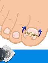 Недорогие -12шт Бутылка для ногтей Многофункциональный / Оригинальные / Прочный маникюр Маникюр педикюр Нержавеющая сталь Художественный / модный Повседневные