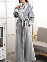 abordables -V Profond Chemises & Blouses Pyjamas Femme Couleur Pleine