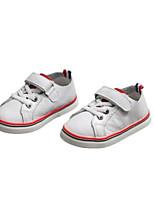 Недорогие -Девочки Обувь Кожа Весна лето Удобная обувь Кеды для Дети (1-4 лет) Красный / Зеленый