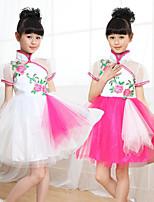 abordables -Danse classique Robes Fille Entraînement / Utilisation Nylon Combinaison Manches Courtes Robe