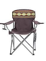 """Недорогие -TANXIANZHE® Складное туристическое кресло На открытом воздухе Легкость, Противозаносный, Пригодно для носки Ткань """"Оксфорд"""", Нержавеющая сталь для Рыбалка / Пляж / Походы - 1 человек Коричневый"""