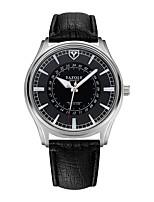 Недорогие -Муж. Спортивные часы Кварцевый Защита от влаги Светящийся Повседневные часы PU Группа Аналого-цифровые На каждый день Мода Черный / Коричневый - Коричневый Черный / Белый Белый / Бежевый