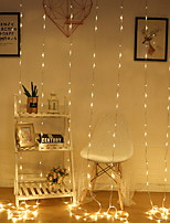 baratos -3M Cordões de Luzes 304 LEDs Branco Quente Decorativa 220-240 V 1conjunto