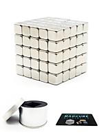 Недорогие -125 pcs 5mm Магнитные игрушки Магнитные шарики Магнитные игрушки Сильные магниты из редкоземельных металлов Магнитный Квадратные / Стресс и тревога помощи
