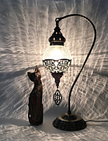 Недорогие -Хрусталь / Модерн Творчество / Новый дизайн / Окружающие Лампы Настольная лампа Назначение Прихожая / Офис Металл AC100-240V Белый