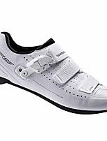 Недорогие -21Grams Обувь для велоспорта Дышащий, Ультралегкий (UL) Шоссейные велосипеды / Велосипедный спорт / Велоспорт Белый