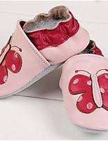 Недорогие -Мальчики / Девочки Обувь Кожа Весна / Осень Удобная обувь На плокой подошве для Дети (1-4 лет) Розовый