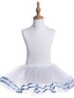 abordables -Danse classique Bas Fille Entraînement / Utilisation Tulle Ondulé / Combinaison / Elastique Tutu