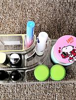 Недорогие -Место хранения организация Косметологический макияж Акрил Квадратная непокрытый