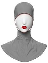 Недорогие -Жен. Винтаж Хиджаб - Перекрещивание Однотонный