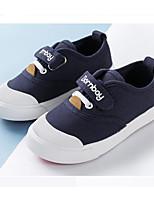 abordables -Garçon / Fille Chaussures Toile Printemps & Automne Confort Basket Scotch Magique pour Enfants Blanc / Rouge / Bleu