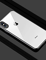 baratos -Capinha Para Apple iPhone XR / iPhone XS Max Transparente Capa traseira Sólido Rígida PC para iPhone XS / iPhone XR / iPhone XS Max