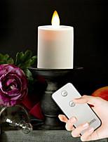 Недорогие -brelong led симулятор свечи пламени с дистанционным управлением 4 шт.