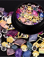 Недорогие -1 pcs Стразы для ногтей Многофункциональный / Лучшее качество Креатив маникюр Маникюр педикюр Повседневные / фестиваль модный