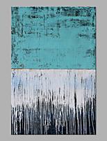 abordables -Peinture à l'huile Hang-peint Peint à la main - Abstrait Classique / Moderne Sans cadre intérieur