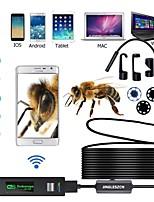 Недорогие -губная помада wi-fi 1200p 10 метров жесткий провод 1/3 дюйма камера эндоскопа ccd h.265 ip68