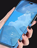 Недорогие -Кейс для Назначение Huawei P20 Pro / P20 lite со стендом / Покрытие / Зеркальная поверхность Кейс на заднюю панель Однотонный Твердый Акрил для Huawei P20 / Huawei P20 Pro / Huawei P20 lite
