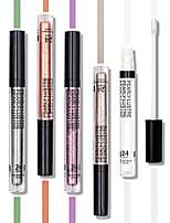 billiga -Makeup 8 färger Ögonskuggor Dam / Öga / Ögonskugga Vattentät / varaktig Vattentät Långvarig Vardagsmakeup / Festmakeup Smink Kosmetisk