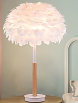 abordables -Moderne / Contemporain Design nouveau / Décorative Lampe de Table Pour Chambre à coucher / Bureau / Bureau de maison Bois / Bambou 220V