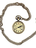 Недорогие -Косплей Карманные часы Steampunk заводной Костюм Маскарад Золотой Винтаж Косплей Металлический сплав Хромированная сталь