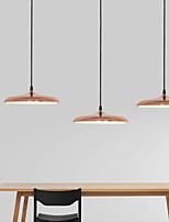 baratos -Ecolight™ 3-luz Cone / Mini / Novidades Luzes Pingente Luz Ambiente Galvanizar Metal Acrílico Estilo Mini, Ajustável, Novo Design 110-120V / 220-240V Branco Quente / Branco