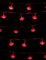 baratos -3M Cordões de Luzes 20 LEDs Vermelho Decorativa 220-240 V 1conjunto