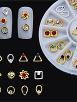 Недорогие -1 pcs Стразы для ногтей Многофункциональный Креатив маникюр Маникюр педикюр Рождество / Повседневные Мода