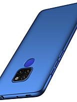 Недорогие -Кейс для Назначение Huawei Huawei Mate 20 Lite / Huawei Mate 20 Pro Матовое Кейс на заднюю панель Однотонный Твердый ПК для Mate 10 / Mate 10 pro / Mate 10 lite / Mate 9 Pro