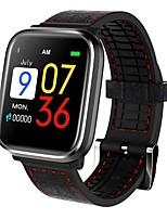 abordables -BoZhuo FQ58 Bracelet à puce Android iOS Bluetooth Sportif Imperméable Moniteur de Fréquence Cardiaque Mesure de la pression sanguine Ecran Tactile Podomètre Rappel d'Appel Moniteur de Sommeil Rappel