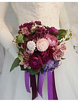 Недорогие -Свадебные цветы Букеты Свадьба / Свадебные прием Гербарий / Шелк 11-20 cm