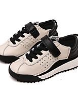Недорогие -Мальчики / Девочки Обувь Кожа Весна / Осень Удобная обувь Спортивная обувь для Дети (1-4 лет) Черный / Бежевый