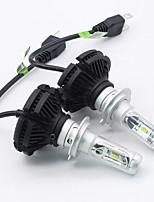Недорогие -SO.K 2pcs H7 / H4 / H3 Автомобиль Лампы 25 W Интегрированный LED 6000 lm 6 Светодиодная лампа Противотуманные фары / Налобный фонарь Назначение Все года