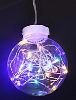 Недорогие -0.5м Гирлянды 10 светодиоды Разные цвета Декоративная Аккумуляторы AA 1 комплект