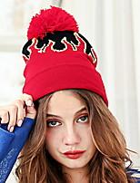 Недорогие -Жен. Классический Широкополая шляпа - С кисточками Контрастных цветов