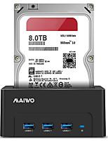 abordables -MAIWO Boîtier de disque dur résine ABS USB 3.0 K308H