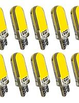 Недорогие -10 шт. T10 Автомобиль Лампы 2 W COB 60 lm 12 Светодиодная лампа Лампа поворотного сигнала Назначение Дженерал Моторс Универсальный