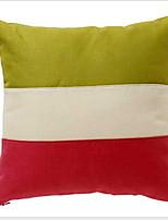 Недорогие -1 штук Полиэстер Модерн / Наволочка, Контрастных цветов Современный