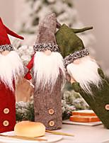 Недорогие -Праздничные украшения Рождественский декор Рождество Декоративная Серый / Зеленый / Темно-красный 1шт