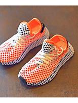 Недорогие -Мальчики / Девочки Обувь Сетка Лето Удобная обувь Кеды для Белый / Черный / Оранжевый