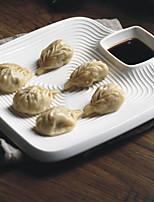 Недорогие -тарелка блюдо суши плита squre белый резьба посуда посуда фарфоровые сервировочные блюда jzp0011