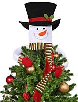 Недорогие -Праздничные украшения Рождественский декор Рождество / Рождественские украшения Декоративная Белый 1шт