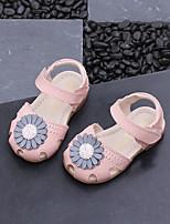 abordables -Fille Chaussures Cuir Eté Confort Sandales pour Enfants Beige / Violet / Rose