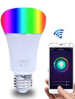 Недорогие -smart wifi bulb app control rgbw dimmable e27 / e26 светодиодная лампа работает с alexa google home16 миллионов цветов ac 85-265v