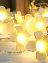 billiga -LED Lampor Plastik Bröllop Dekorationer Bröllopsfest / Festival Kreativ / Bröllop Alla årstider